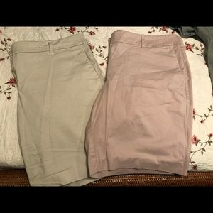 Ladies walking shorts- set